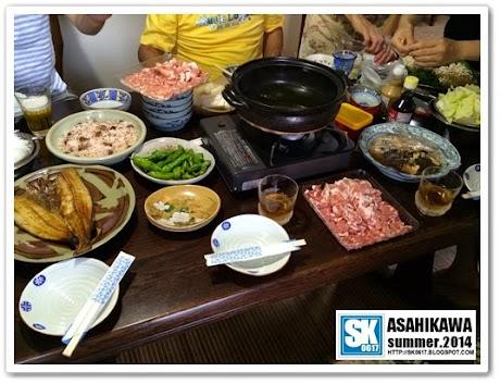 Asahikawa Japan - Home Dinner