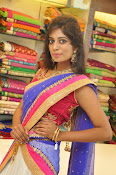 Mounika Reddy Glam pics in Half saree-thumbnail-13