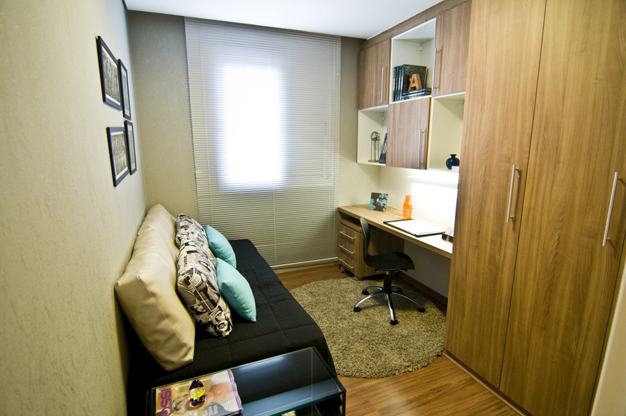 A Casa da Sheila Quartos com home office!!!