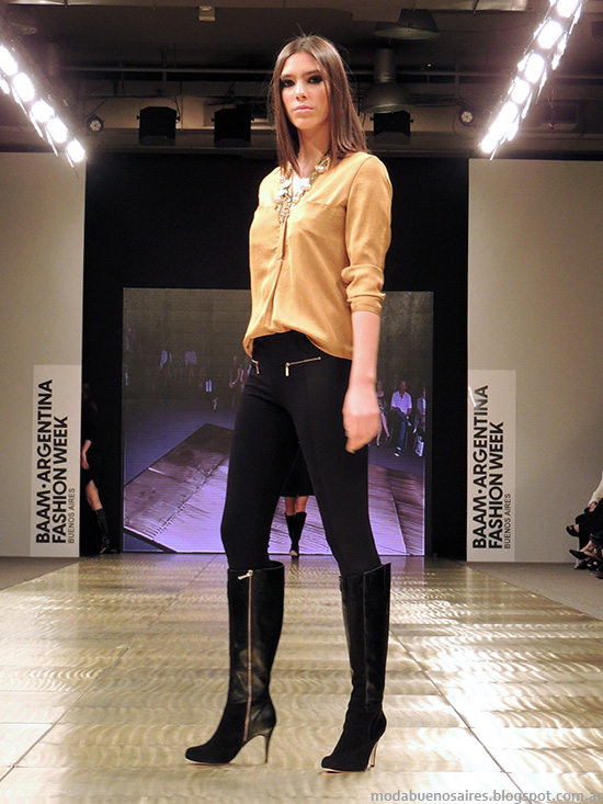Blusas de moda 2014 Argentina Fashion Week