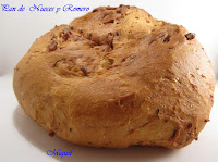 Pan de Nueces y romero: