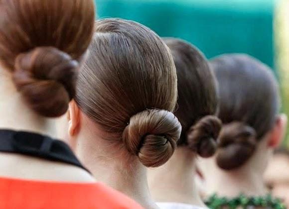 Peinados 2014 rodetes recogidos