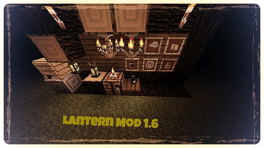 Lanterns and Flashlights Mod