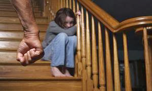 Domestic Violence: It's Closer Than You Think - man hit girl child kid  frightened abuse Violence