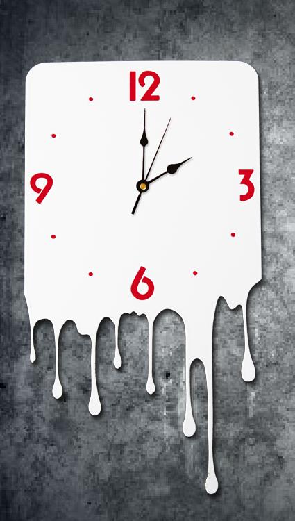 Kia design orologio colato - Porta orologi ikea ...