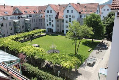 family-friendly courtyard housing