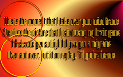 Bionic - Christina Aguilera Song Lyric Quote in Text Image