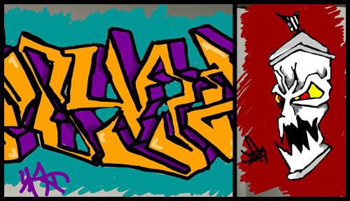 graffiti snapchat