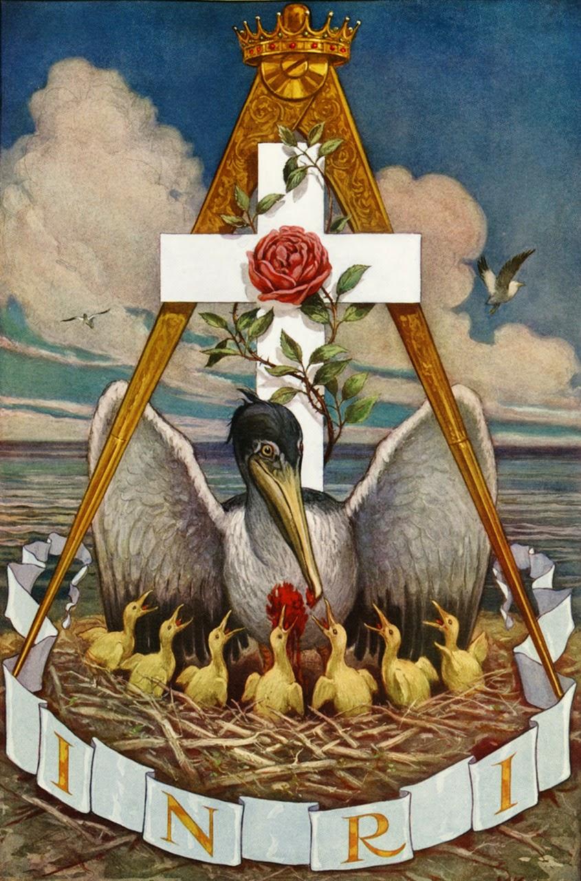 Rosacruz por John Augustus Knapp