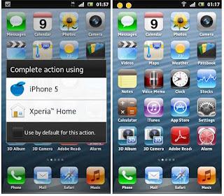 Cara Merubah Tampilan Android Seperti iPhone 5