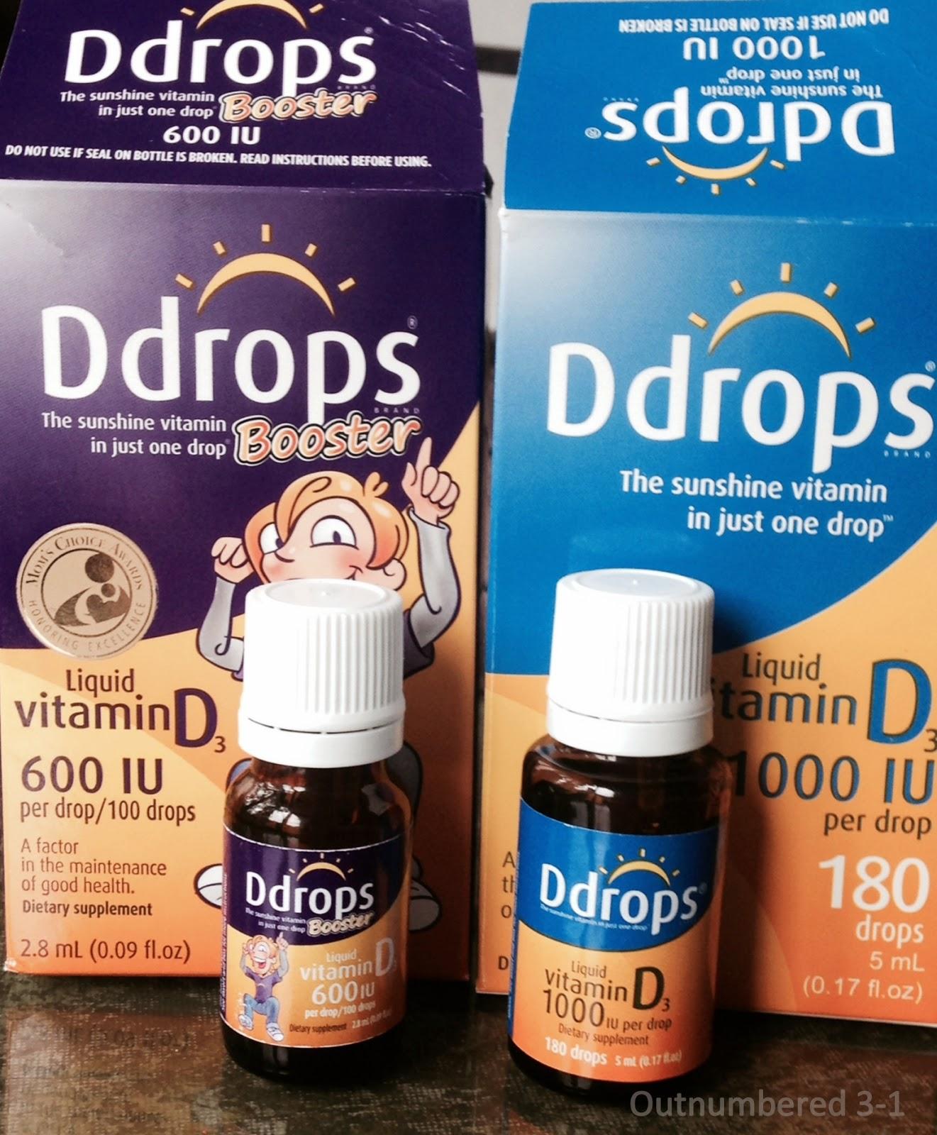 Ddrops, Vitamin D, Supplement