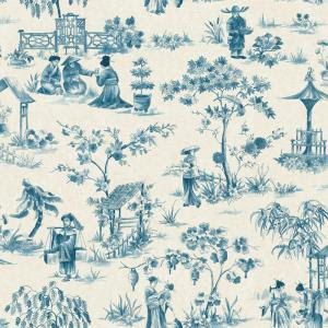 China Toile Wallpaper