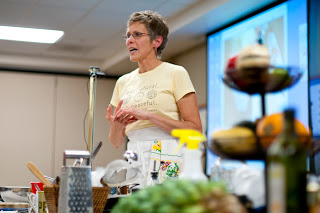 Healthy Culinary Instructor, Kish Hospital, Community Wellness, Natural Eating, Full Flavor of Spring Greens and Herbs
