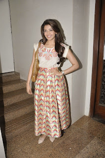 Actress Kajal Agarwal Latest Pictures at Felicitate Chidren NGO Alert India 12