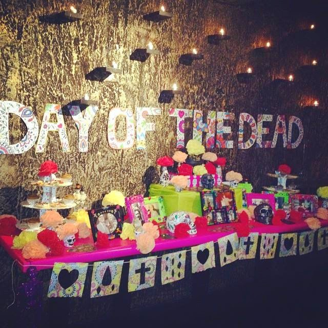 Our Day of the Dead Altar @ Maya
