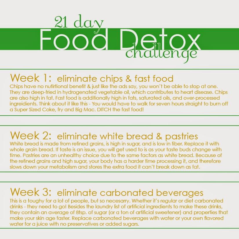 21 day detox diet challenge