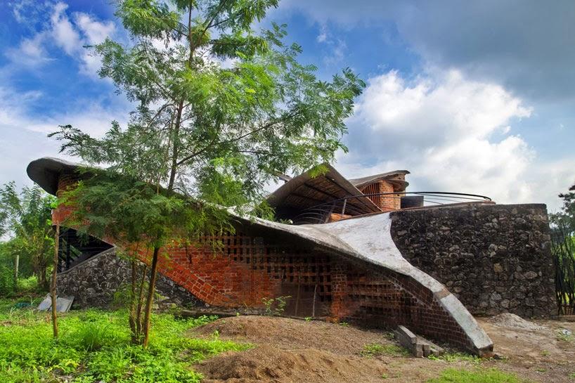 Organic Architecture eclectitude: organic architecture in india
