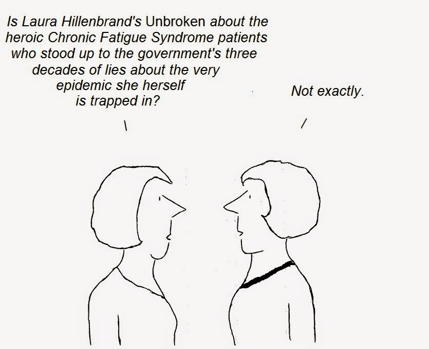cartoon, cartoon, hillenbrand, cfs, Chrnic Fatigue Syndrome, Unbroken