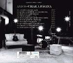 Parte de trás do cd Virar a Página de 2009 dos Anjos