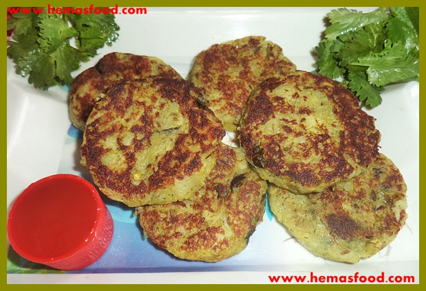Coriander Potato Cutlets