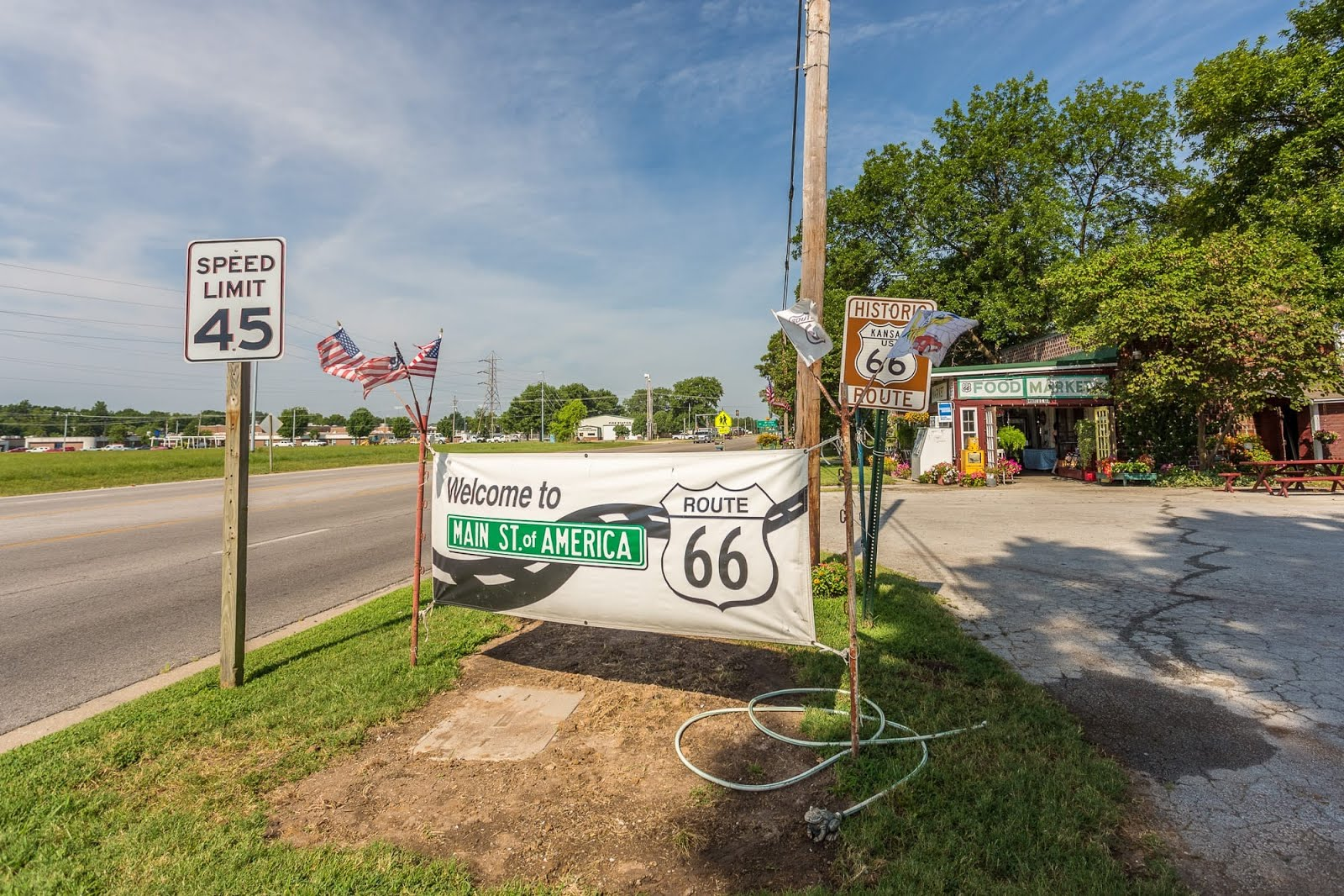 Highlights of Route 66 Kansas – In Photos