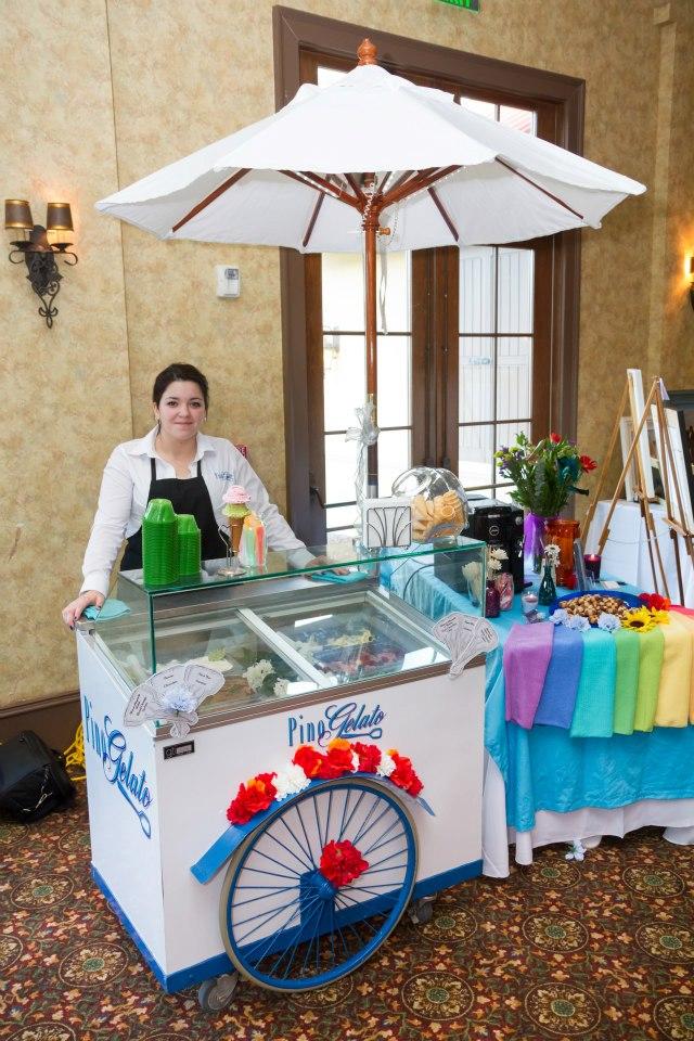 pino gelato gelato for weddings