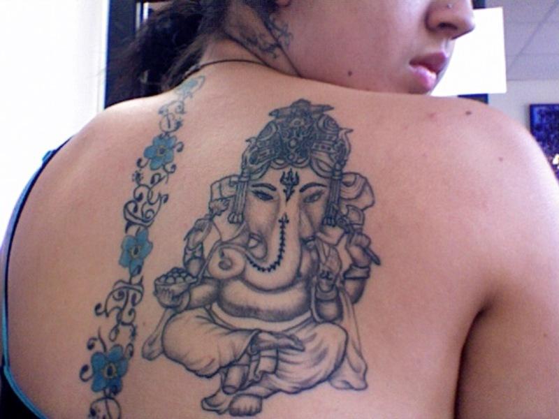 Hindu God Tattoo Designs