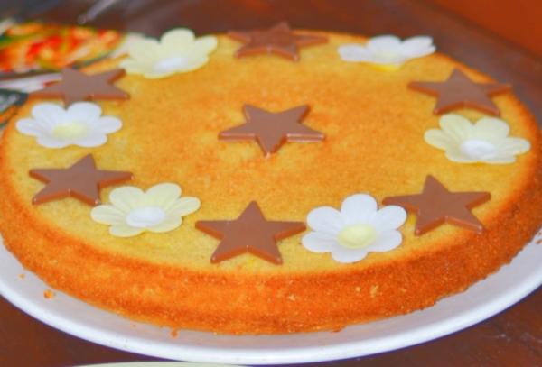 Nigerian Sponge Cake Recipe