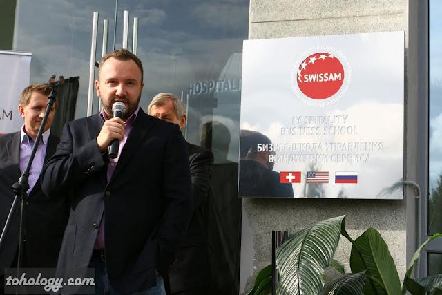Михаил Тевелев соучредитель swissam