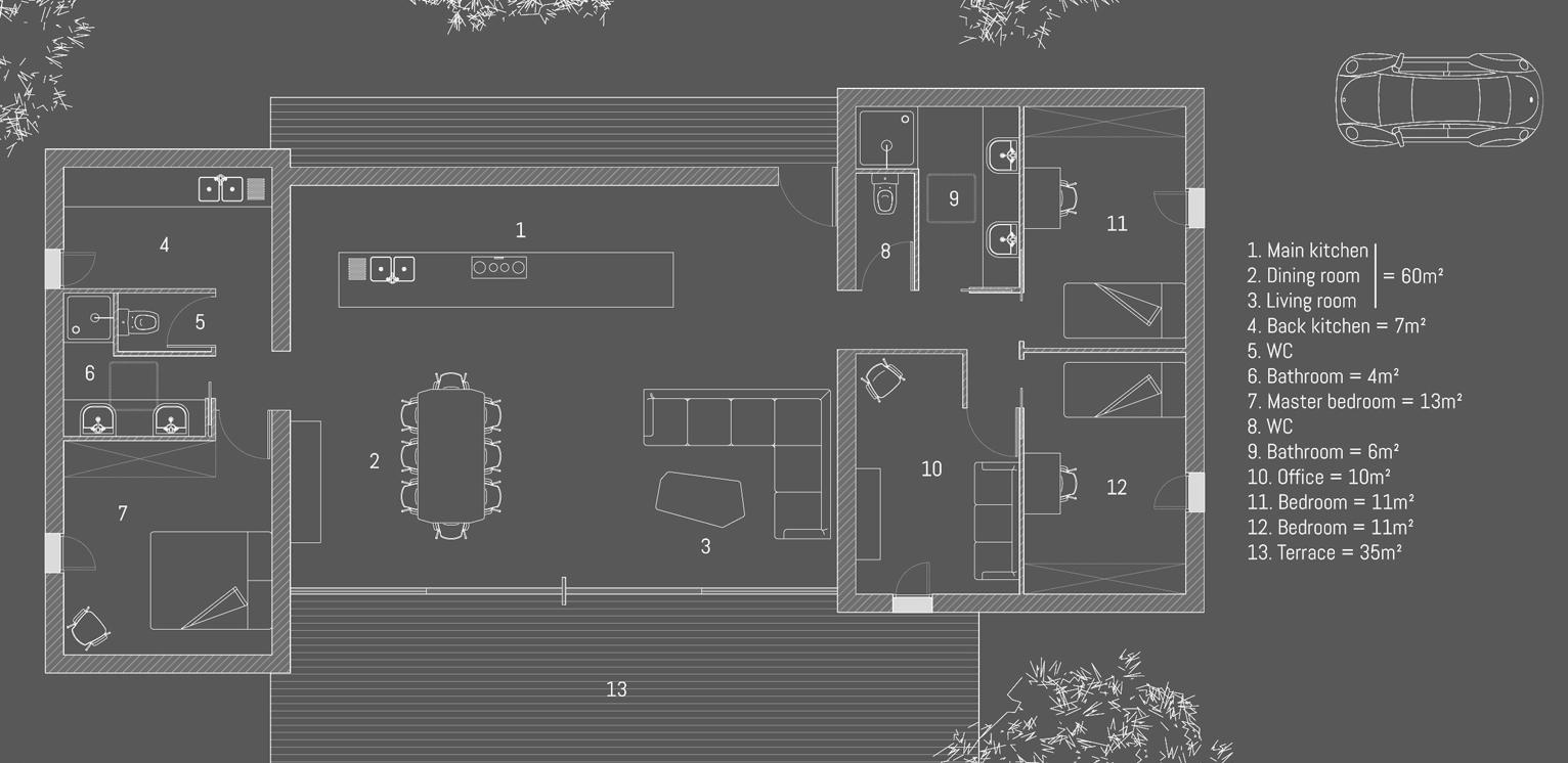 Binnenkant mooi groot goedkoop en snel te bouwen huis for Huis gezellig maken goedkoop