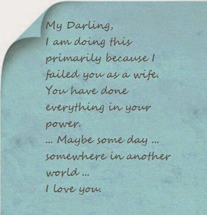 Suicide letter