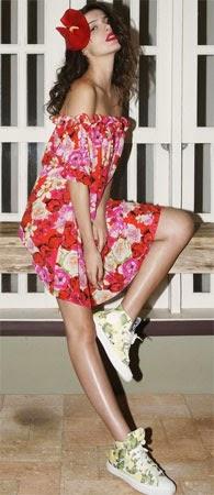 Isolda verão 2015 vestido midi coleção Rouge