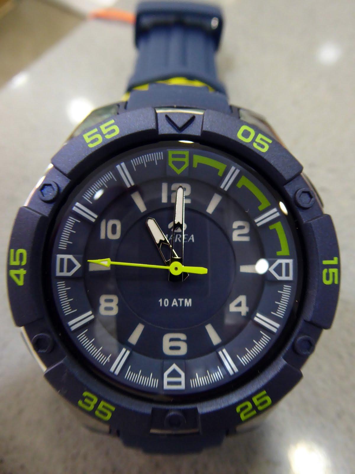 Reloj Marea, sumergible 10 Atm.