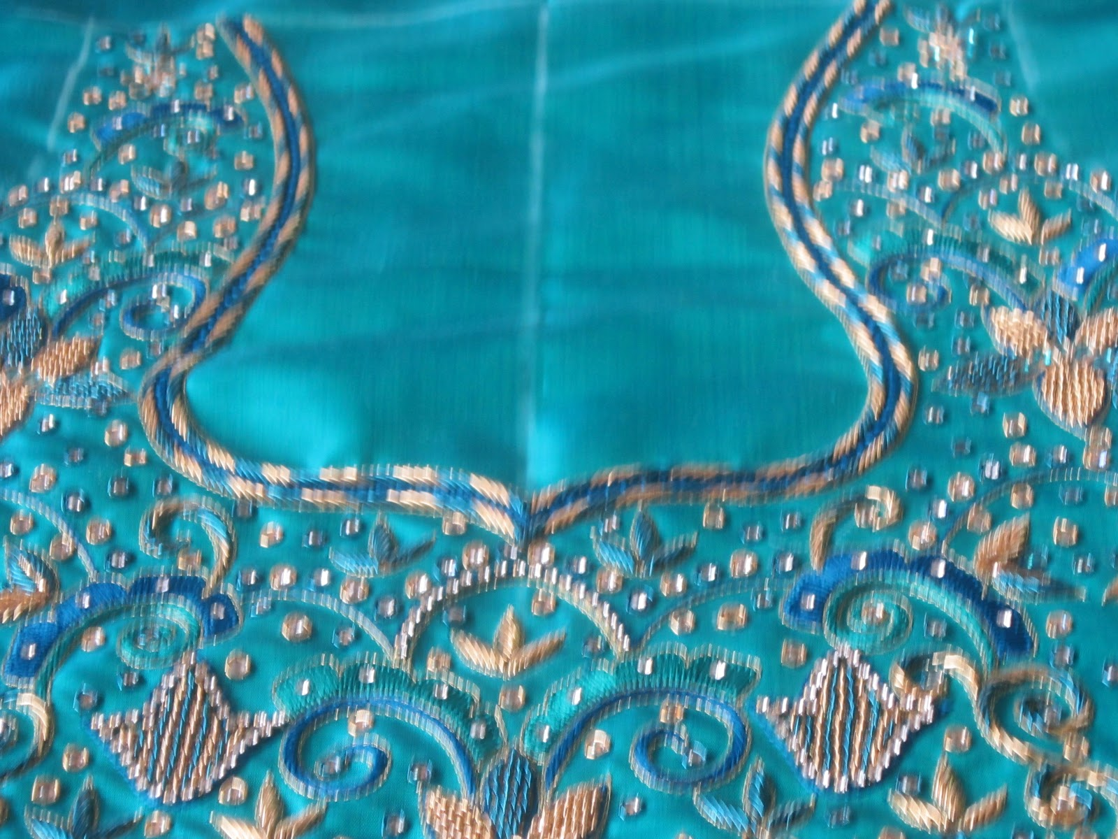 Designer Blouses New Embroidery Designs On Blouses