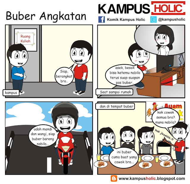 #218 Buber Angkatan Universitas Holic