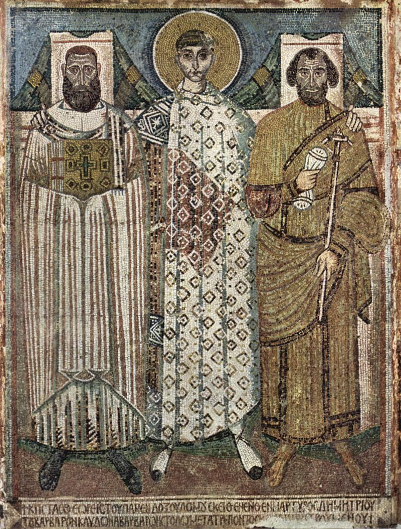 mosaics in early byzantine era Byzantine (330-1453) the thinness of the saints and their haggard appearance is typical of byzantine art in the early centuries of the mosaics at daphni.