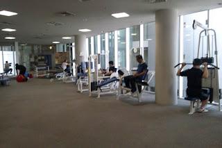 台東区の生涯学習センター内のスポーツジム