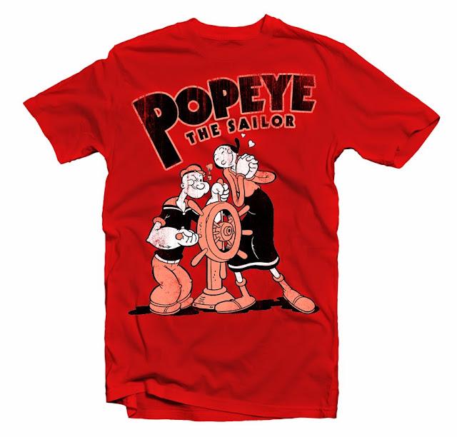tshirt popeye