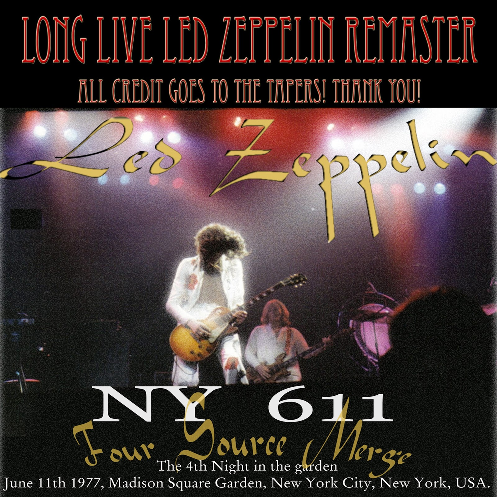 Long live led zeppelin led zeppelin madison square garden ny long live led for Led zeppelin madison square garden