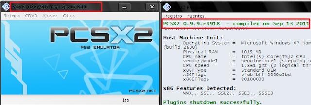Descargar Emulador PS2 PCSX2 V0.9.9 R4920 + Plugins + Colección De