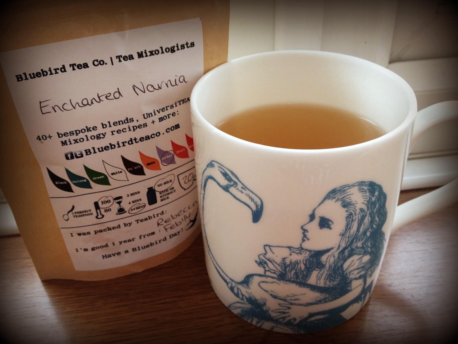 bluebird tea co rose tea