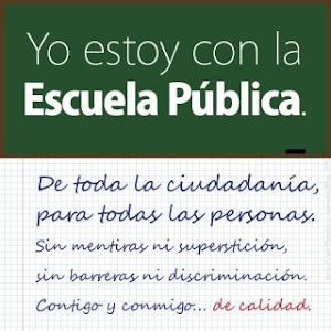 ESCUELA PÚBLICA, LAICA Y GRATUITA