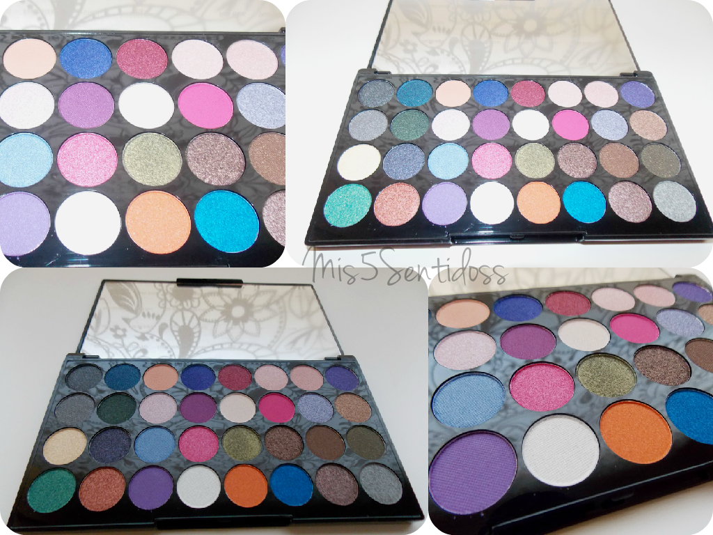 Makeup Revolution Paleta de sombras Eyes Like Angels
