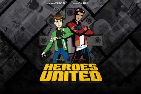        Ben 10 Generator rex heroes united 2011     DVDRIP
