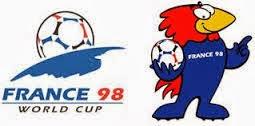 Logo y mascota mundial francia 1998
