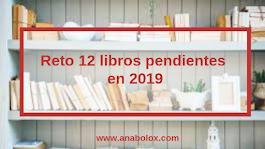 Reto libros pendientes 2019.