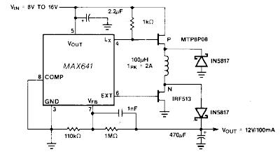 electronics projects step up down dc dc converter circuit diagram rh circuitexperts blogspot com Simple Diode Circuit Diagram Off Delay Timer Circuit Diagram