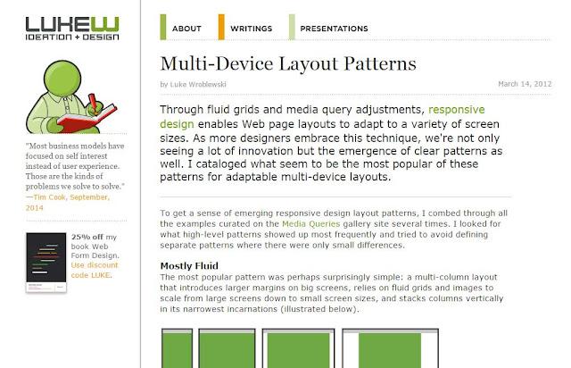 Multi-Device Layout Patterns