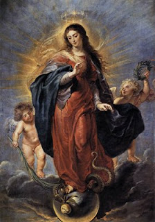 Immaculée Conception - Avent - Sacerdoce - Année de la foi - Benoit XVI