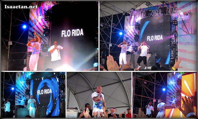 Flo Rida at Future Music Festival Asia 2012 Sepang